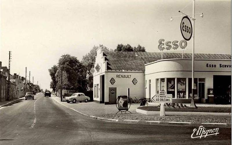 Voiture ancienne old car photos les plus belles de ferrari voiture vintage - Garage renault republique ...
